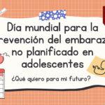 Día Internacional de la prevención del embarazo adolescente